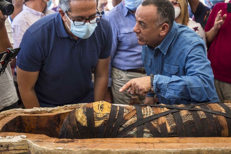 Hallan 59 sarcófagos Egipto 3