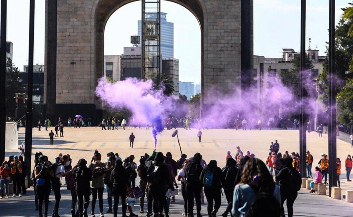Marcha por el #25N contra la violencia de género